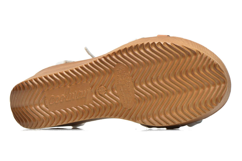 Sandales et nu-pieds Coolway Gissi Multicolore vue haut