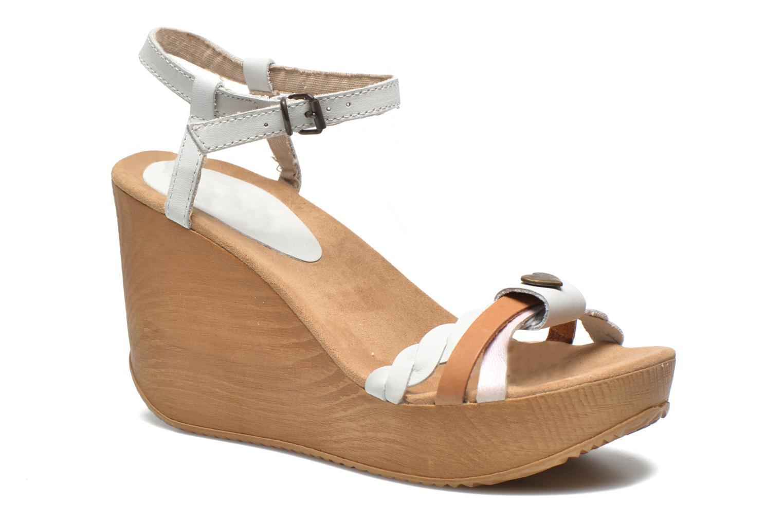 Sandales et nu-pieds Coolway Gissi Multicolore vue détail/paire