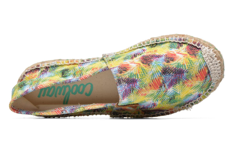 Espadrilles Coolway Janik Multicolore vue gauche