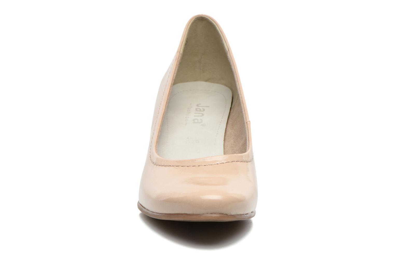Escarpins Jana shoes Bossy Beige vue portées chaussures