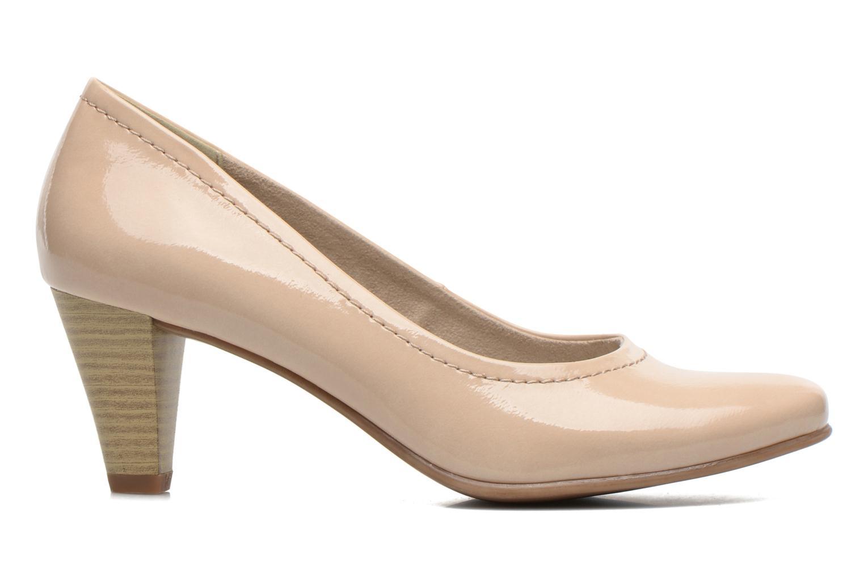 Escarpins Jana shoes Bossy Beige vue derrière