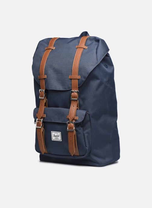 Rucksacks Herschel Little America mv Blue model view