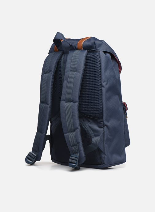 Rucksacks Herschel Little America mv Blue view from the right