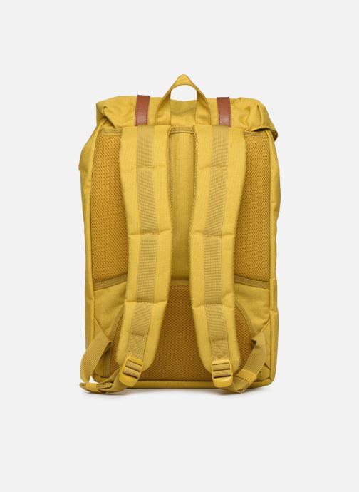 Rucksäcke Herschel Little America mv gelb ansicht von vorne