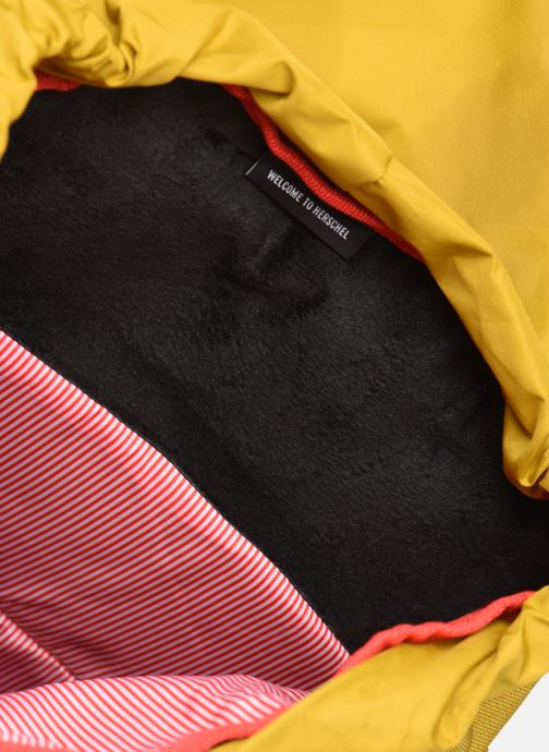 Rucksäcke Herschel Little America mv gelb ansicht von hinten