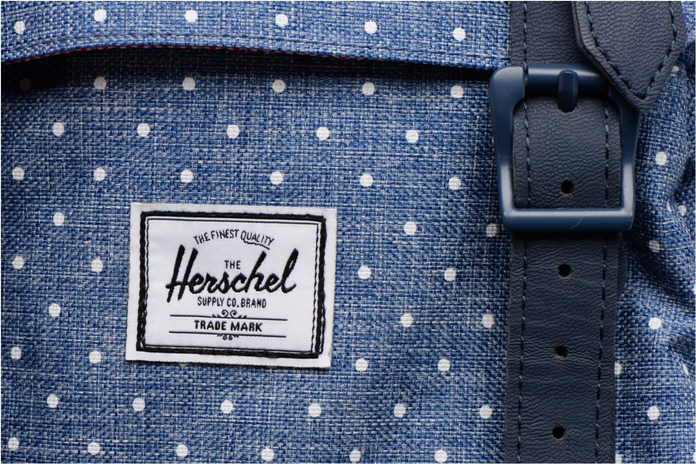 Sacs à dos Herschel Little America mv Bleu vue gauche
