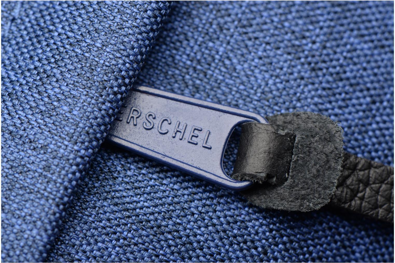 Reisegepäck Herschel Chapter blau ansicht von links