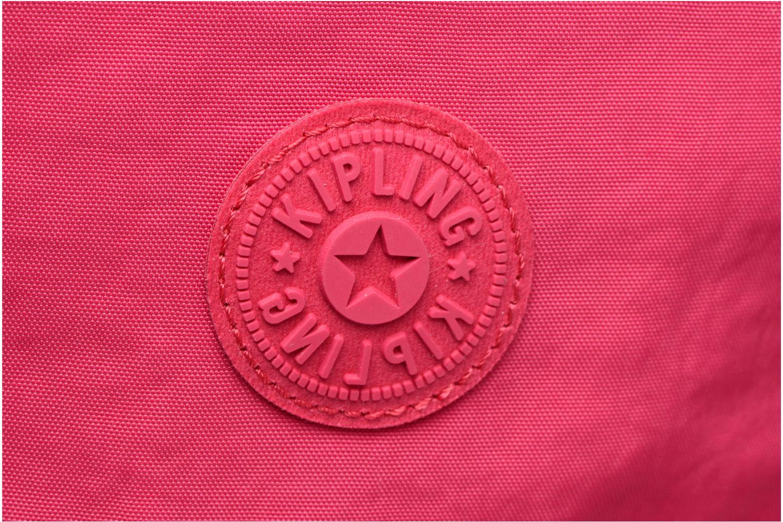 Reisegepäck kipling Teagan XS rosa ansicht von links