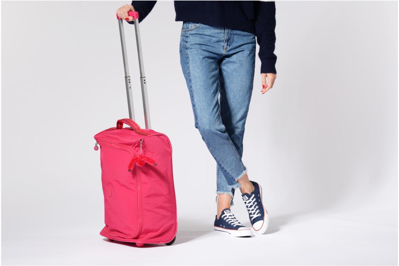 Reisegepäck kipling Teagan XS rosa ansicht von oben