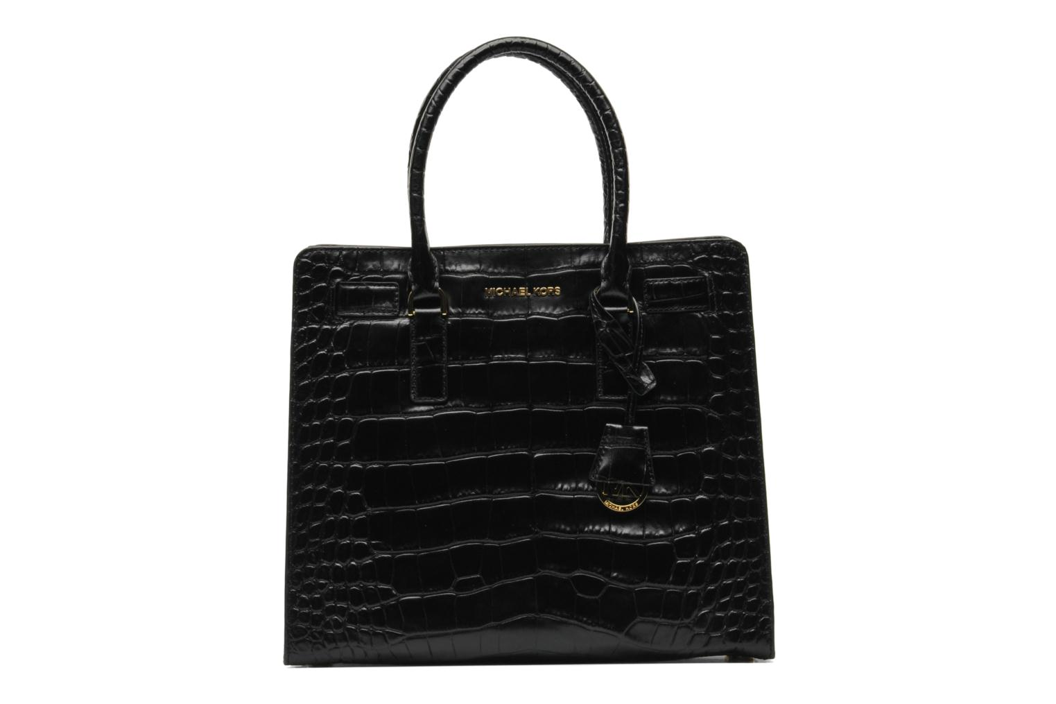 8d33cd15146a9 ... discount code for handbags michael michael kors dillon lg ns tote black  detailed view pair view