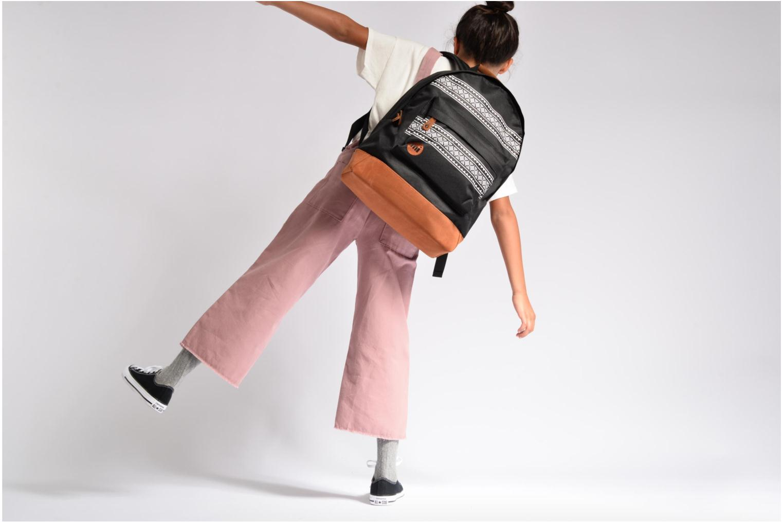 Sacs à dos Mi-Pac Nordic Backpack Noir vue haut
