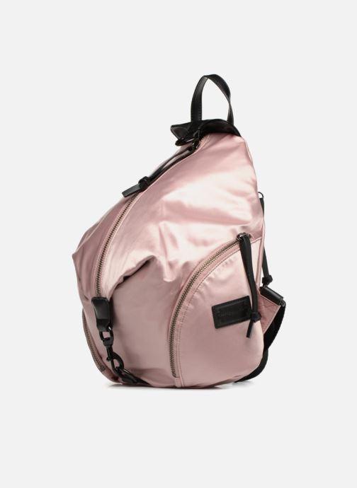 Zaini Rebecca Minkoff Julian Backpack Rosa modello indossato