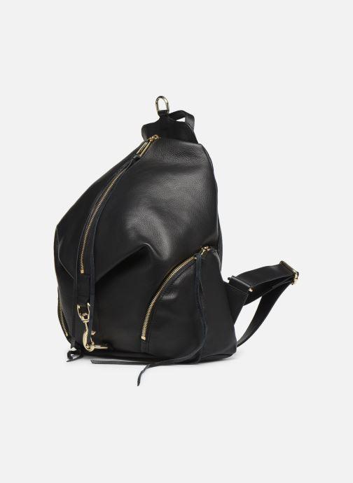 Sacs à dos Rebecca Minkoff Julian Backpack Noir vue portées chaussures