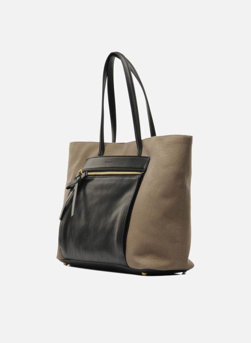 Handbags Sonia Rykiel AMBROISE Cabas Brown model view