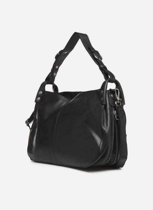 Handtassen Sabrina Candice Zwart model