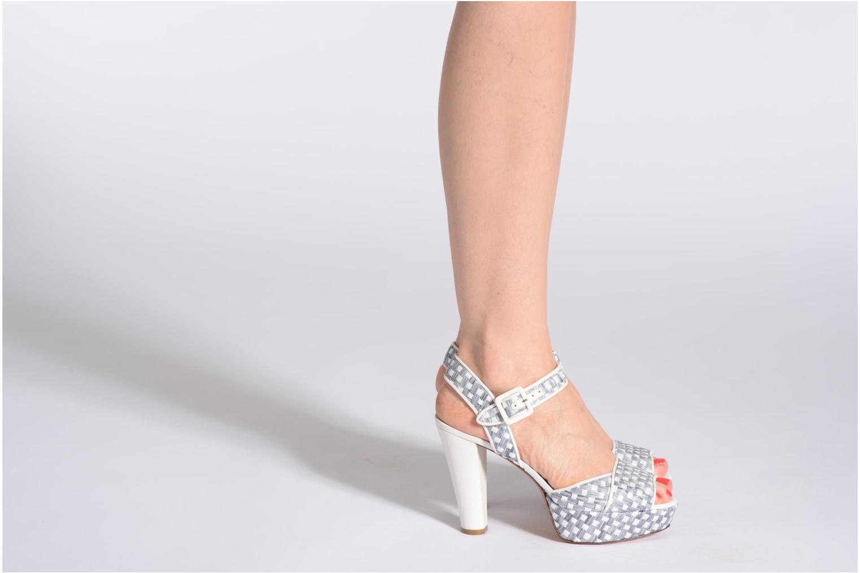 Sandales et nu-pieds Sonia Rykiel Iber Multicolore vue bas / vue portée sac