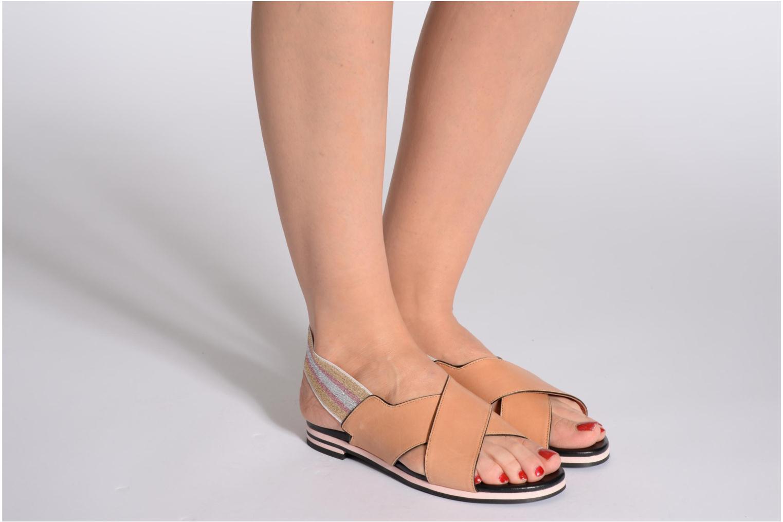 Sandales et nu-pieds Sonia Rykiel Sade Marron vue bas / vue portée sac