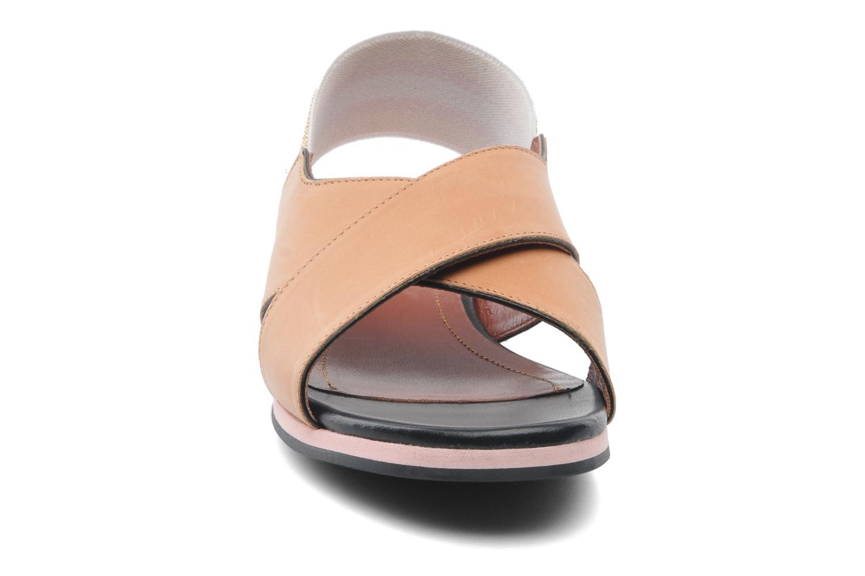 Sandales et nu-pieds Sonia Rykiel Sade Marron vue portées chaussures