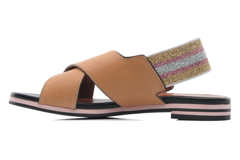 Sandales et nu-pieds Sonia Rykiel Sade Marron vue face