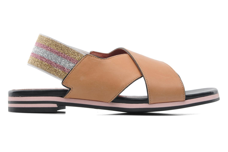 Sandales et nu-pieds Sonia Rykiel Sade Marron vue derrière