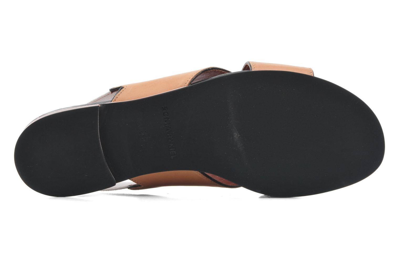 Sandales et nu-pieds Sonia Rykiel Sade Marron vue haut
