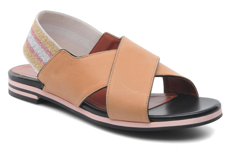 Sandales et nu-pieds Sonia Rykiel Sade Marron vue détail/paire