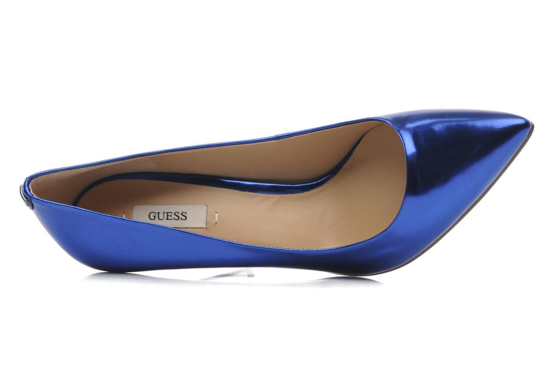 Escarpins Guess Plasmia2 Bleu vue gauche