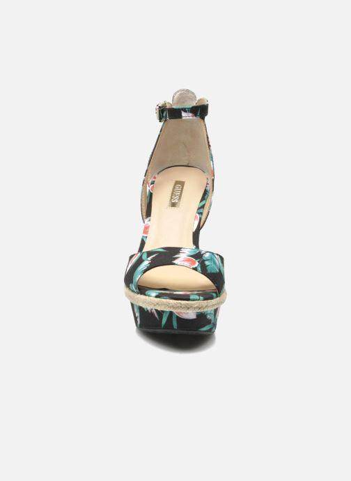Sandales et nu-pieds Guess Odin Multicolore vue portées chaussures