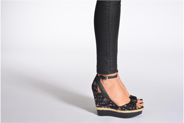 Sandales et nu-pieds Guess Odin Multicolore vue bas / vue portée sac