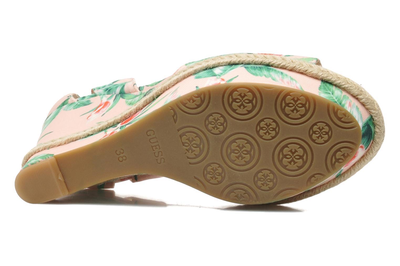 Sandales et nu-pieds Guess Odin Multicolore vue haut