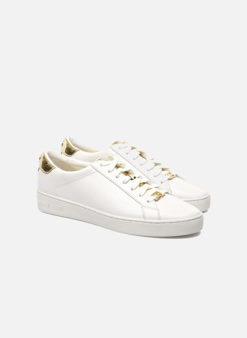 Sneakers Michael Michael Kors Irving Lace Up Bianco immagine 3/4