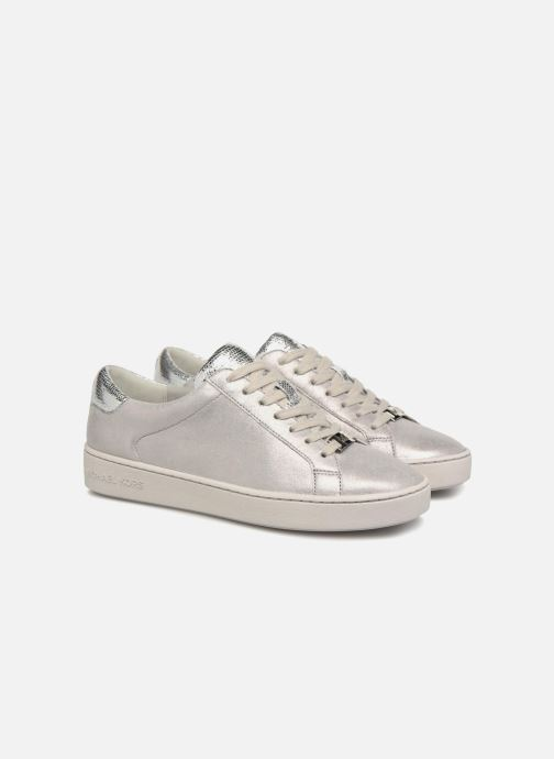 Sneakers Michael Michael Kors Irving Lace Up Grigio immagine 3/4
