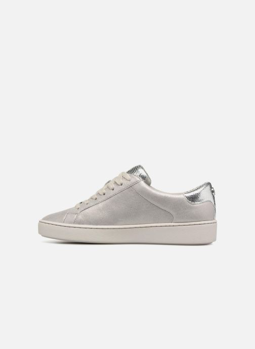 Sneakers Michael Michael Kors Irving Lace Up Grigio immagine frontale
