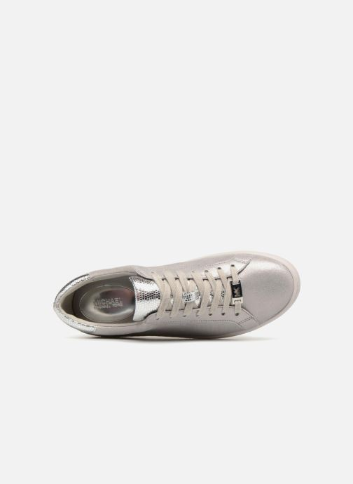 Sneakers Michael Michael Kors Irving Lace Up Grigio immagine sinistra
