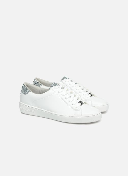 Deportivas Michael Michael Kors Irving Lace Up Blanco vista 3/4