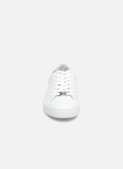 Deportivas Michael Michael Kors Irving Lace Up Blanco vista del modelo