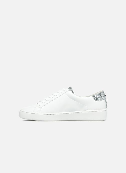 Deportivas Michael Michael Kors Irving Lace Up Blanco vista de frente