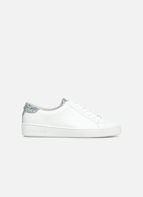 Deportivas Michael Michael Kors Irving Lace Up Blanco vistra trasera
