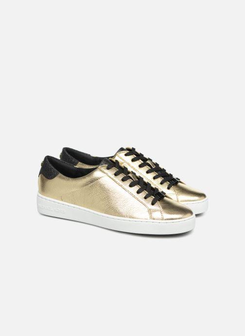 Sneakers Michael Michael Kors Irving Lace Up Goud en brons 3/4'