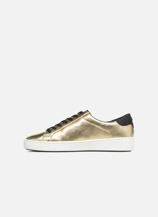 Sneakers Michael Michael Kors Irving Lace Up Oro e bronzo immagine frontale