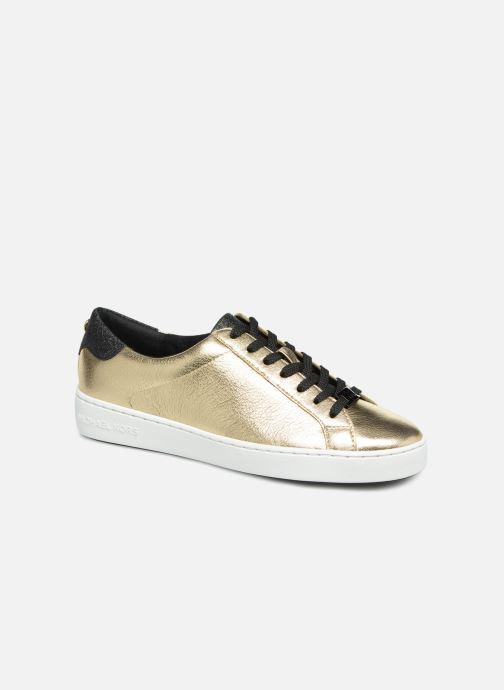 Sneakers Michael Michael Kors Irving Lace Up Oro e bronzo vedi dettaglio/paio