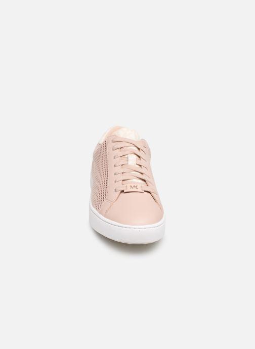 Sneaker Michael Michael Kors Irving Lace Up rosa schuhe getragen