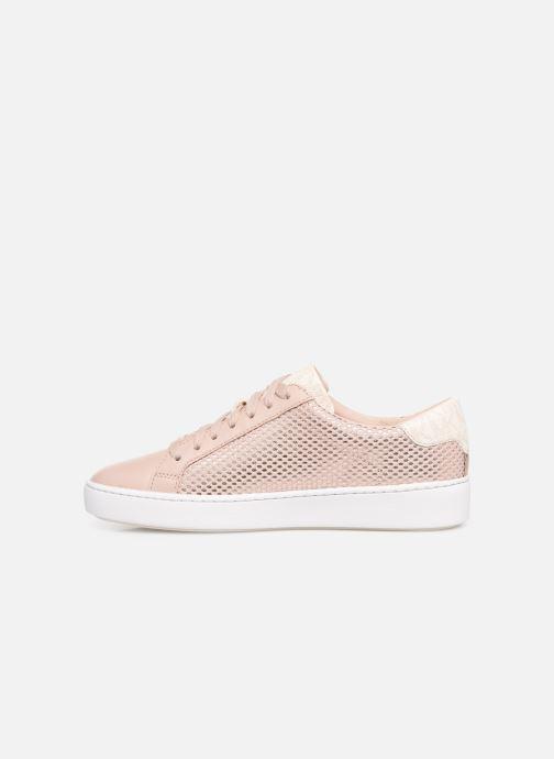 Sneakers Michael Michael Kors Irving Lace Up Roze voorkant