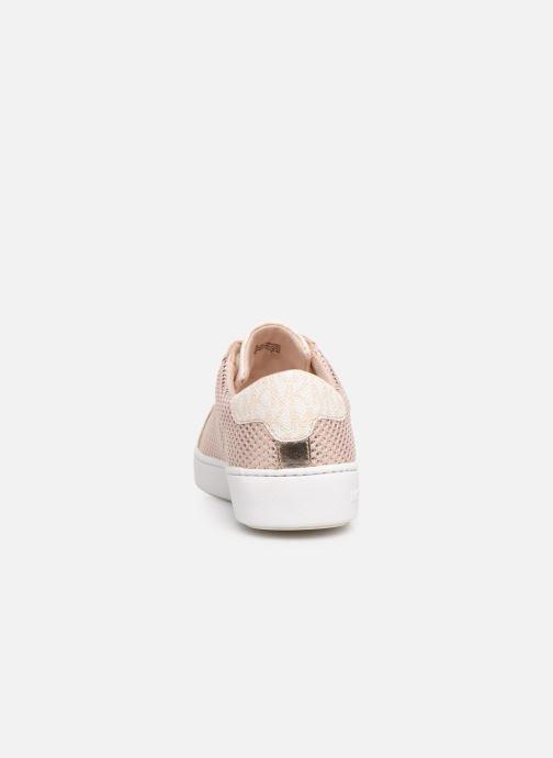 Sneaker Michael Michael Kors Irving Lace Up rosa ansicht von rechts