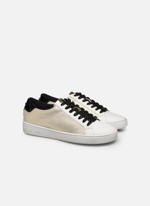 Sneakers Michael Michael Kors Irving Lace Up Oro e bronzo immagine 3/4
