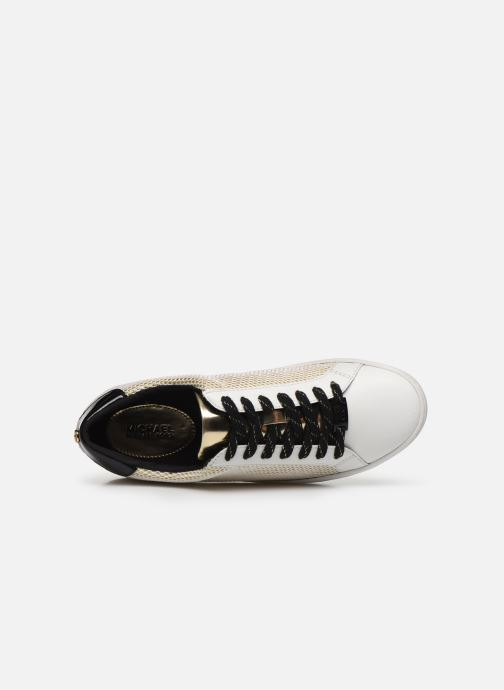 Sneakers Michael Michael Kors Irving Lace Up Oro e bronzo immagine sinistra