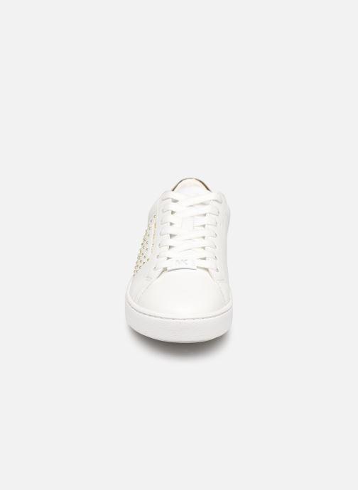 Baskets Michael Michael Kors Irving Lace Up Blanc vue portées chaussures