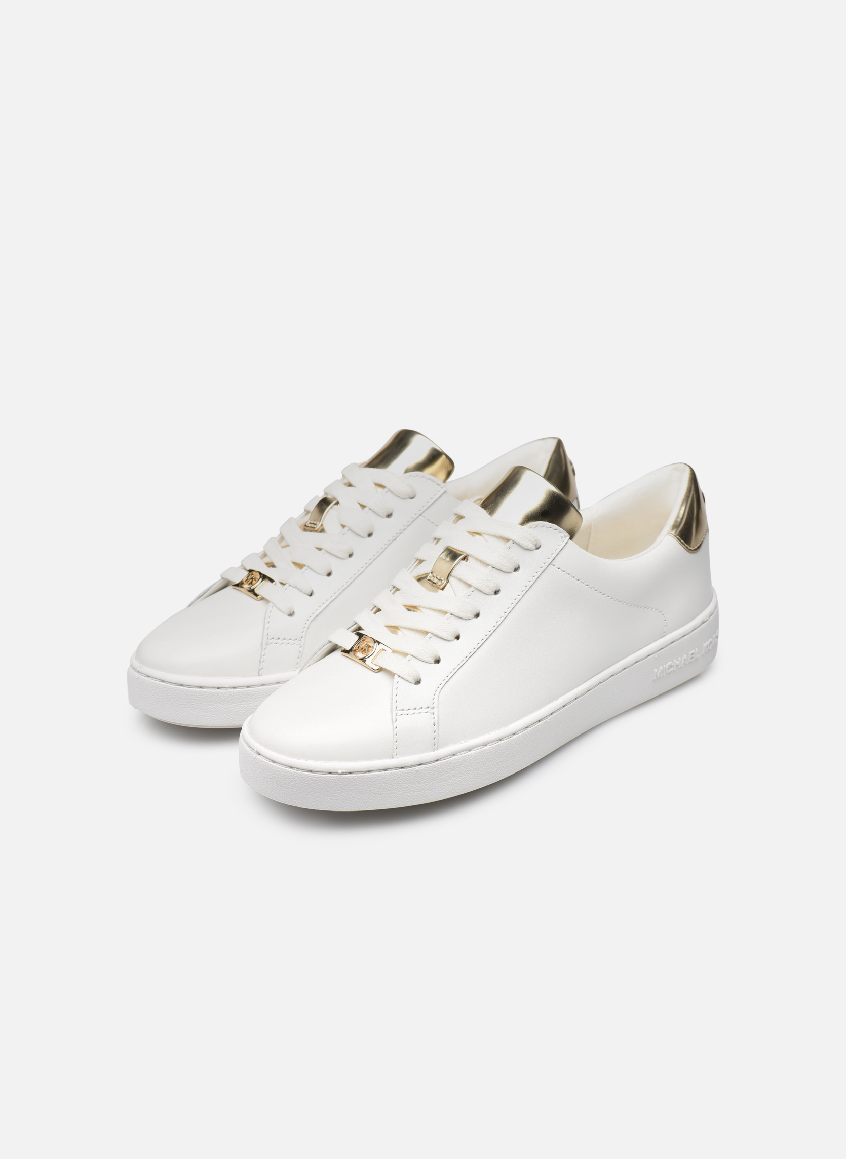 Trainers Michael Michael Kors Irving Lace Up White view from underneath / model view