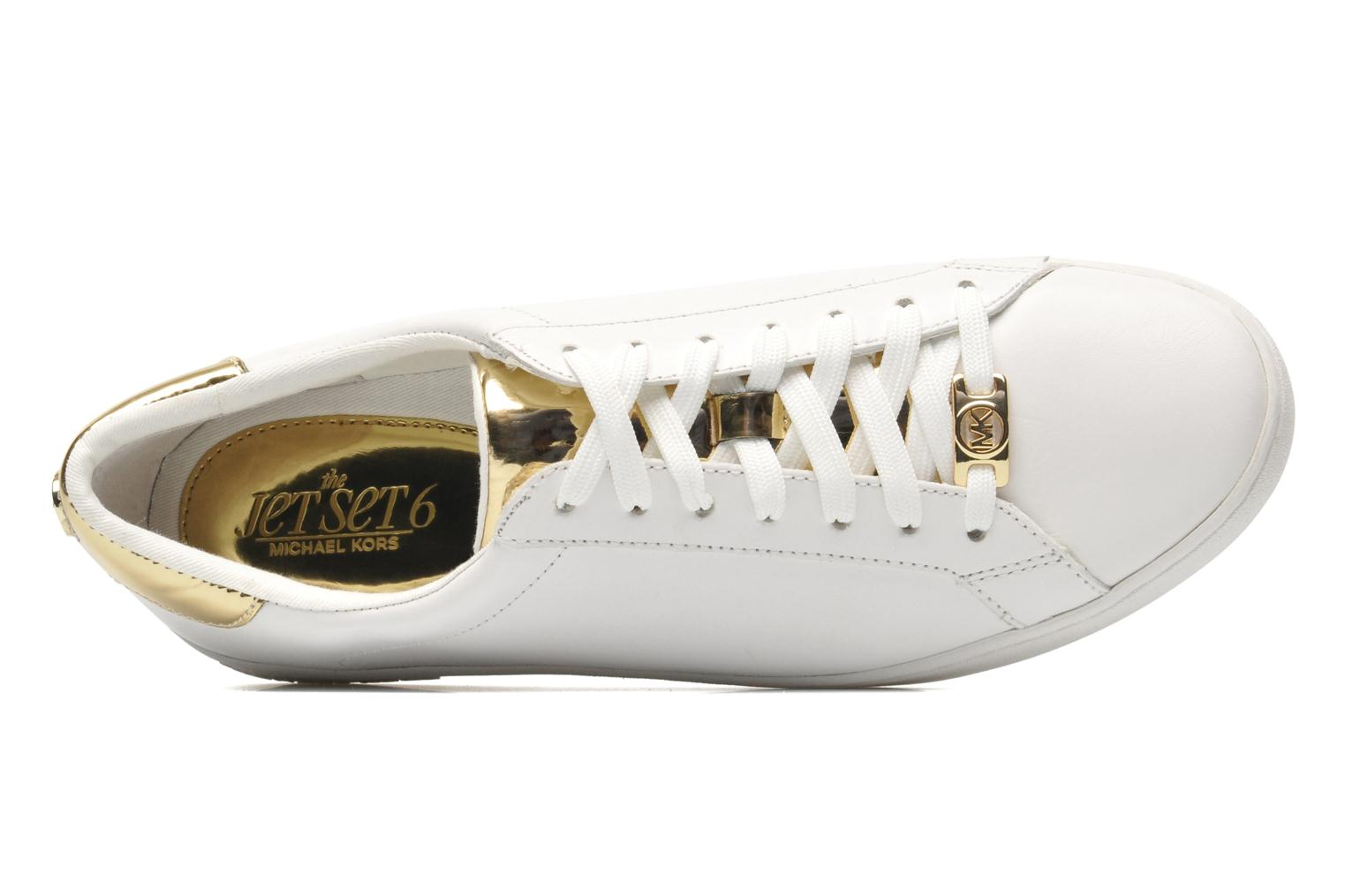 Sneakers Michael Michael Kors Irving Lace Up Bianco immagine sinistra