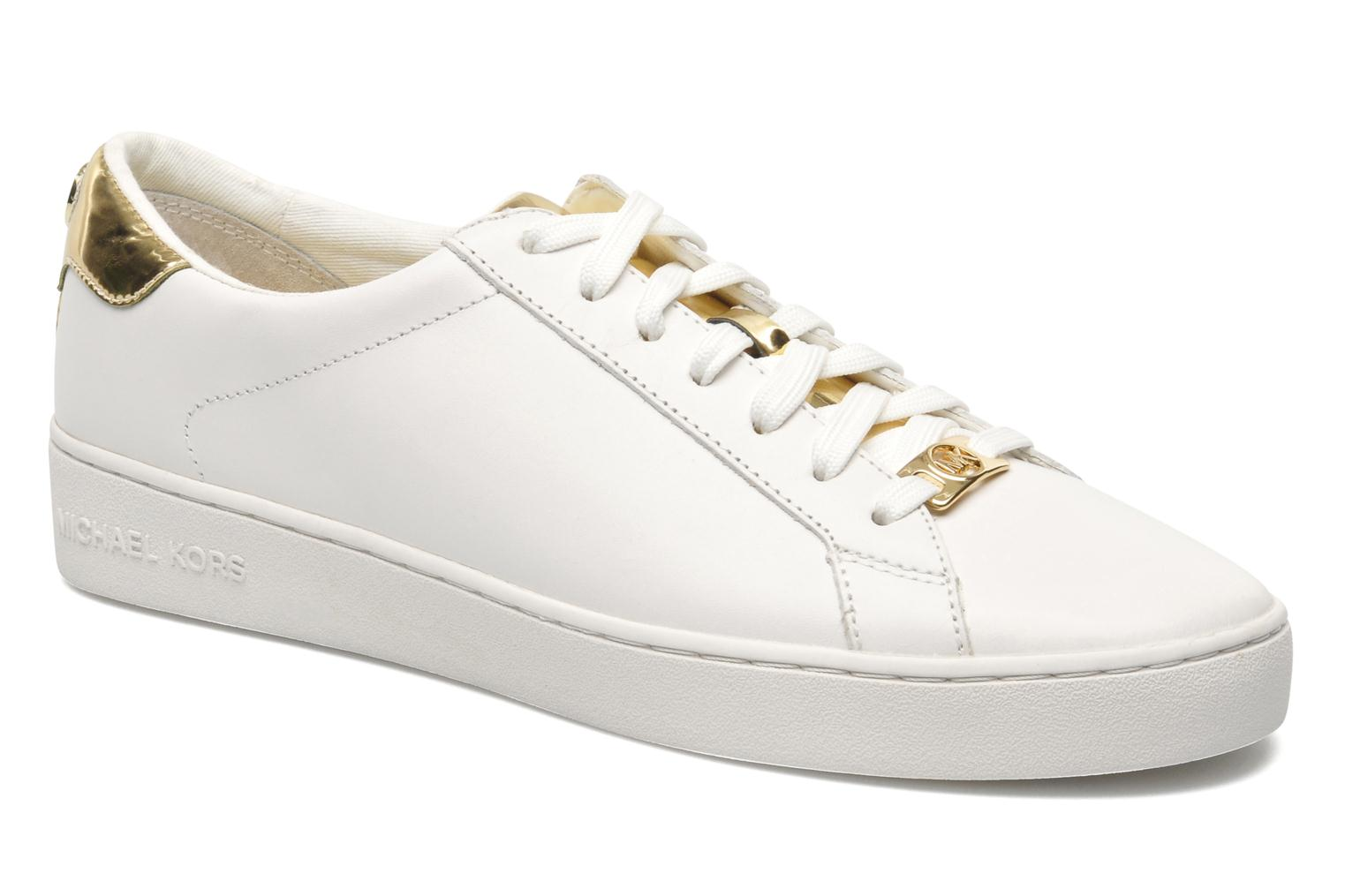 Trainers Michael Michael Kors Irving Lace Up White detailed view/ Pair view